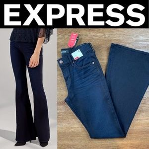 NEW EXPRESS MID RISE STRETCH+SUPERSOFT BELL FLARE